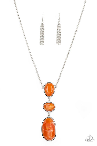 Paparazzi Making an Impact - Necklace Orange Box 18