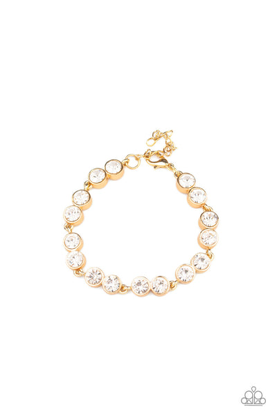 Paparazzi By All Means - Bracelet Gold Box 30