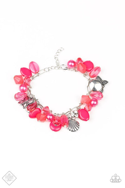 Paparazzi Buzzing Beauty Queen - Bracelet Pink Box 85