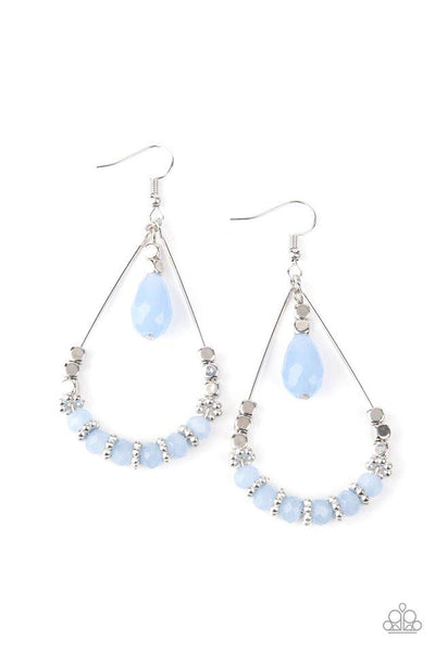 Paparazzi Lovely Lucidity - Earrings Blue Box 79