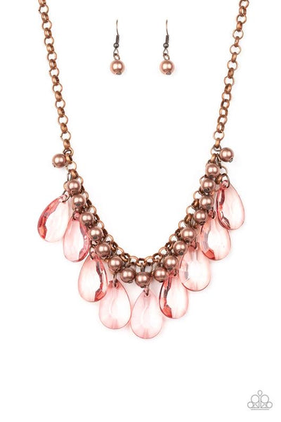 Paparazzi Fashionista Flair - Necklace Copper Box 45