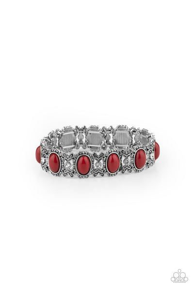 Paparazzi A Piece of Cake - Bracelet Red Box 67