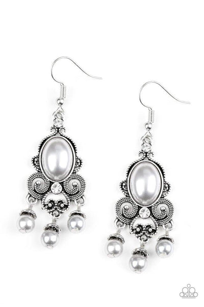 Paparazzi I Better Get Glowing - Earrings Silver Box 79