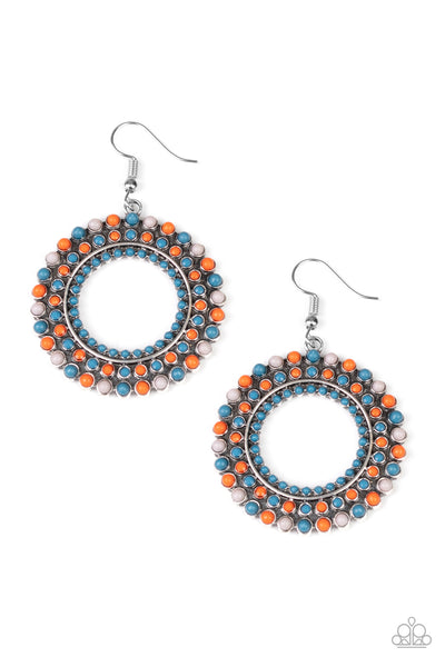 Paparazzi Rural Ripple - Earrings Multi Box 43