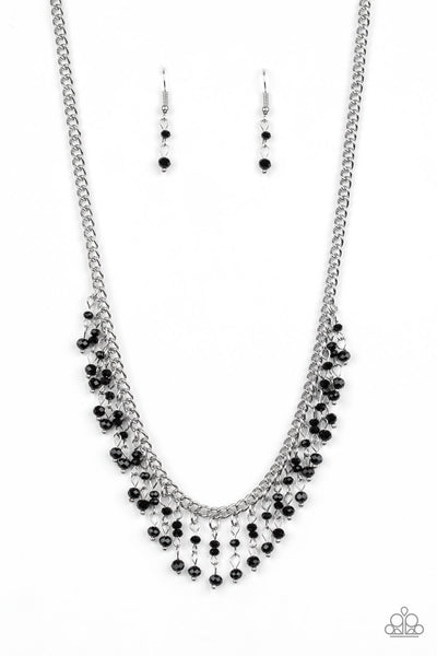 Paparazzi Sporadic Sparkle - Necklace Black Box 87