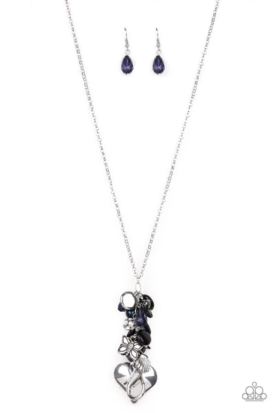 Paparazzi Beach Buzz - Necklace Lanyard Blue Box 6