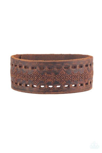 Paparazzi Make The WEST Of It - Urban Bracelet Brown Box 44