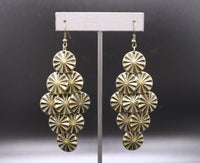 Paparazzi Star Spangled Shine - Earrings Brass Box 63