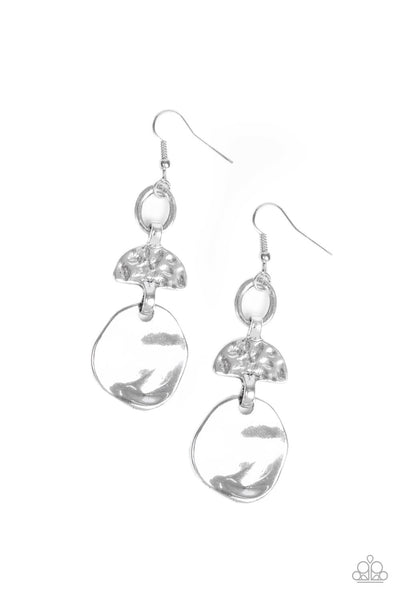 Paparazzi Melting Pot - Earrings Silver Box 37
