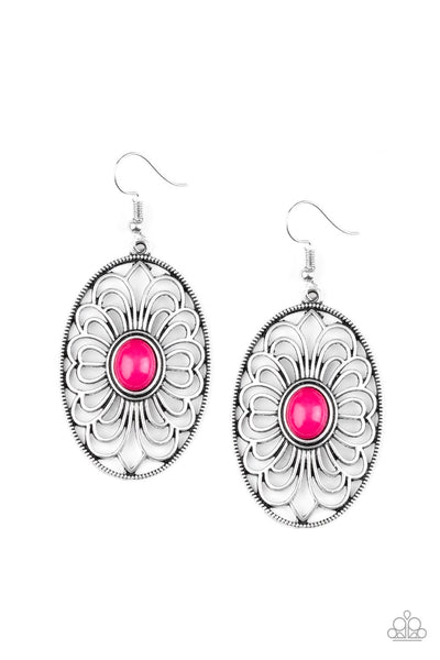 Paparazzi Really Whimsy - Earrings Pink Box 43