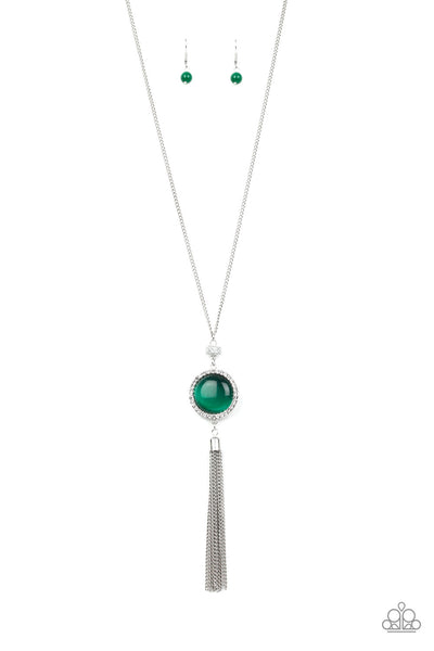 Paparazzi Sparkling Spectacle - Necklace Green Box 21
