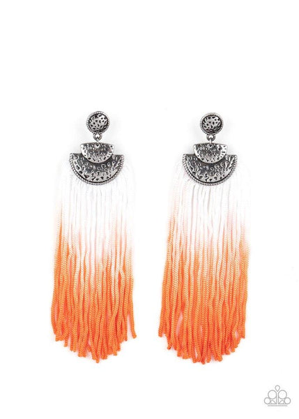 Paparazzi Dip It Up - Earrings Orange Box 79