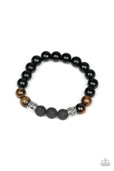 Paparazzi Mantra - Urban Bracelet Brown Box 46