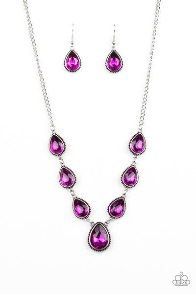 Paparazzi Socialite Social - Necklace Pink Box 48