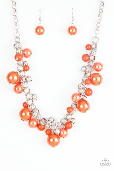 Paparazzi The Upstater - Necklace Orange Box 18