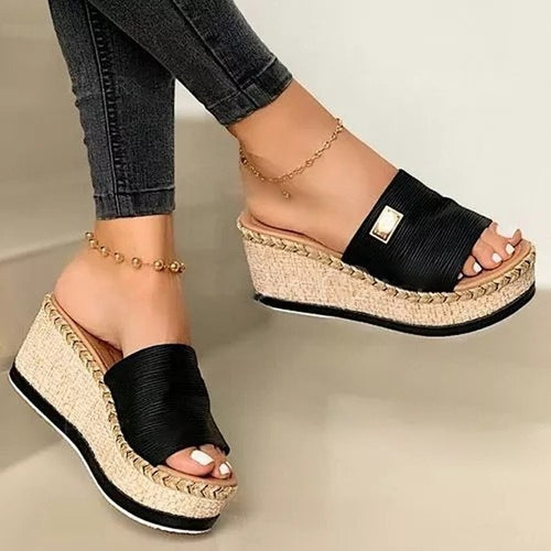 Wedge Slippers