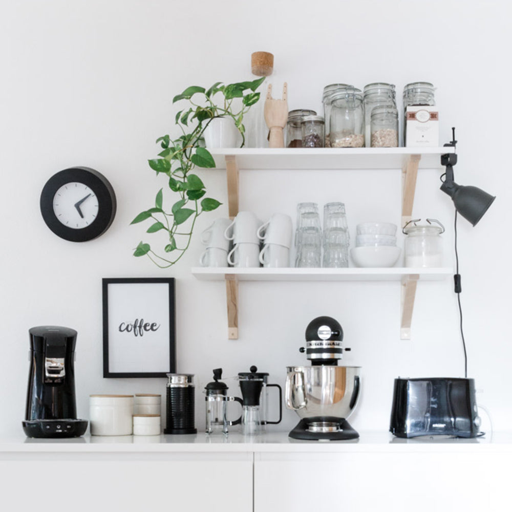 4 Steps To Creating An At-Home Coffee Bar