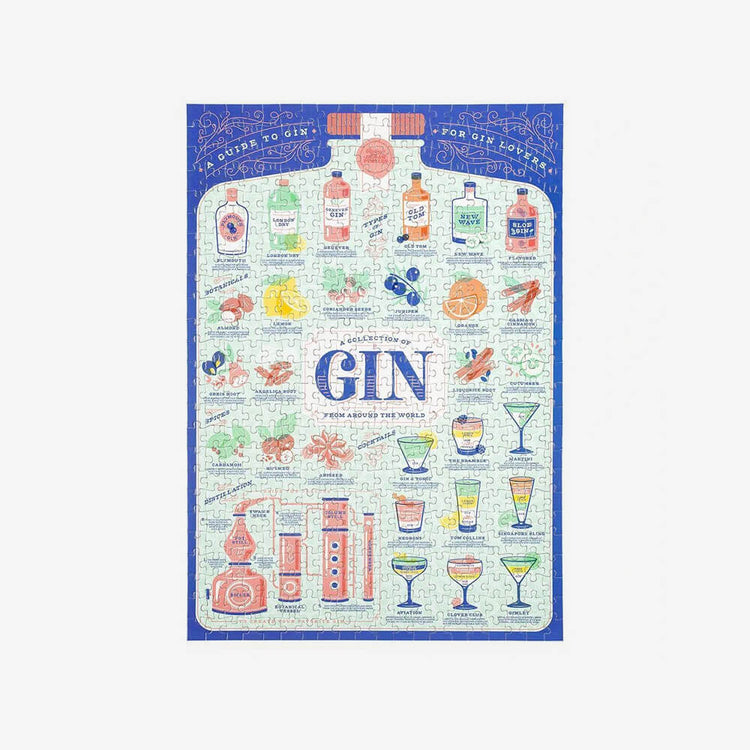 Ridley's Gin Lover's Jigsaw Puzzle