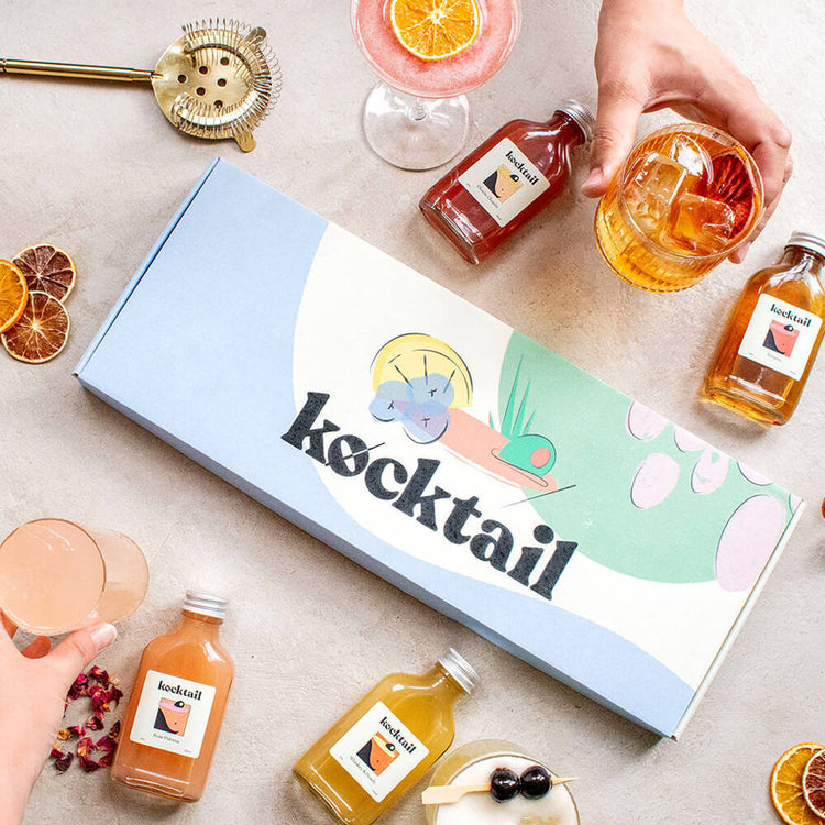 Dark and Sophisticated Cocktail Box from Kocktail