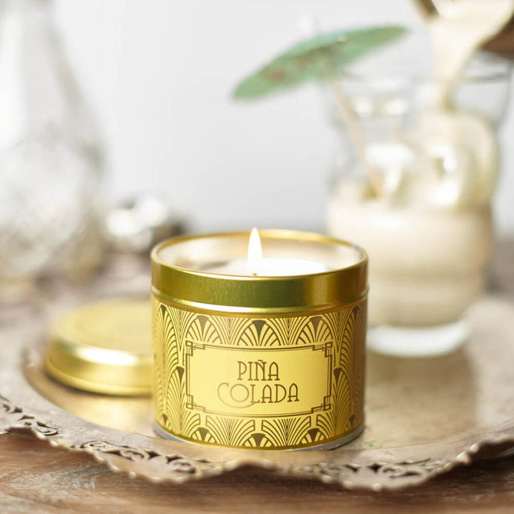 Happy Hour Pina Colada Scented Candle