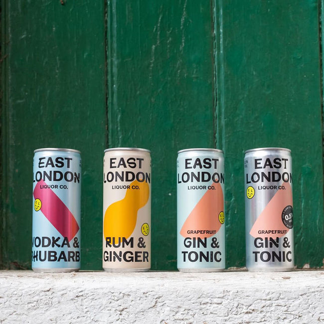 Canned cocktails by East London Liquor Co.
