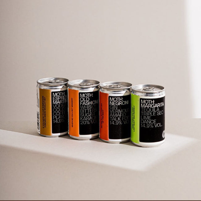 MOTH Drinks - The best cocktails in a can