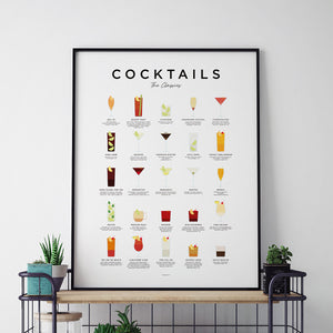 Cocktail Art Prints