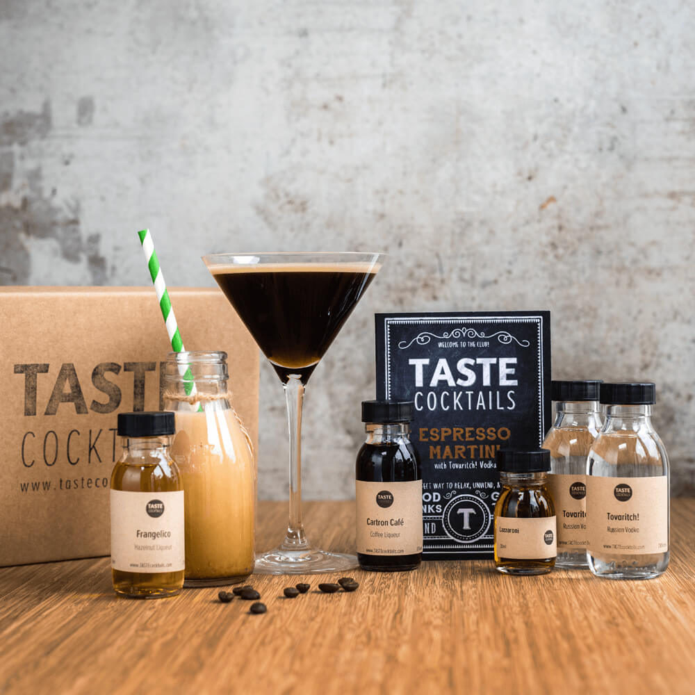 Coffee Lover GIfts 17: Espresso Martini Cocktail Kit