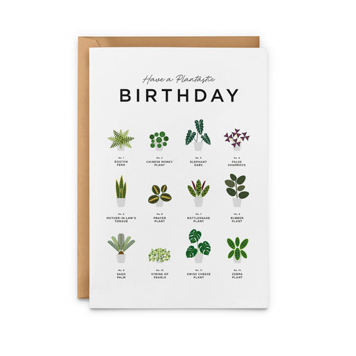 Have A Plantastic Birthday Card