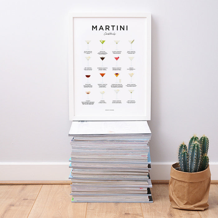 Martini Cocktails art print