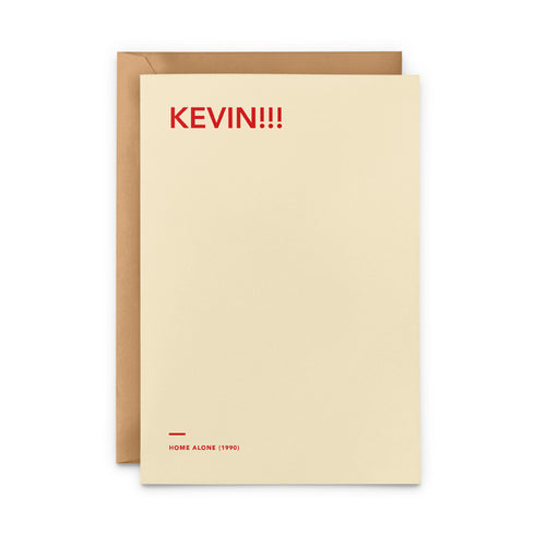 'Kevin!!!' Home Alone movie Christmas Card