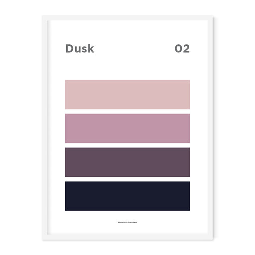 Dusk Art Print – 02 Sky Colour Series