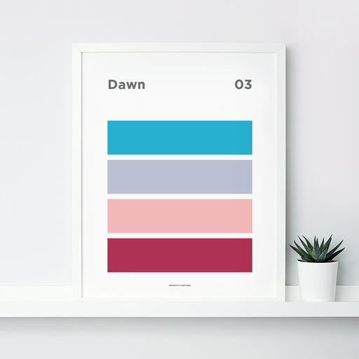Dawn Art Print – 03 Sky Colour Series
