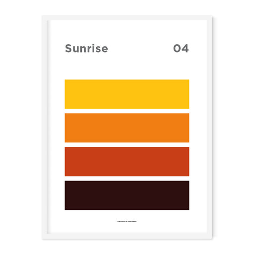 Sunrise Art Print – 04 Sky Colour Series