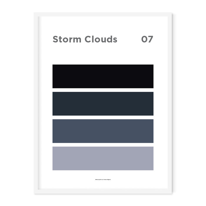 Storm Clouds Art Print – 07 Sky Colour Series