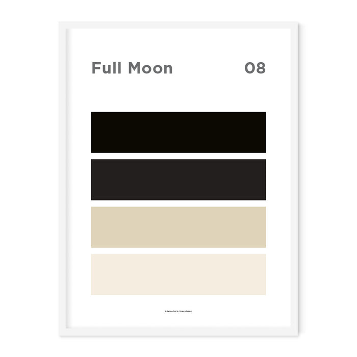 Full Moon Art Print – 08 Sky Colour Series