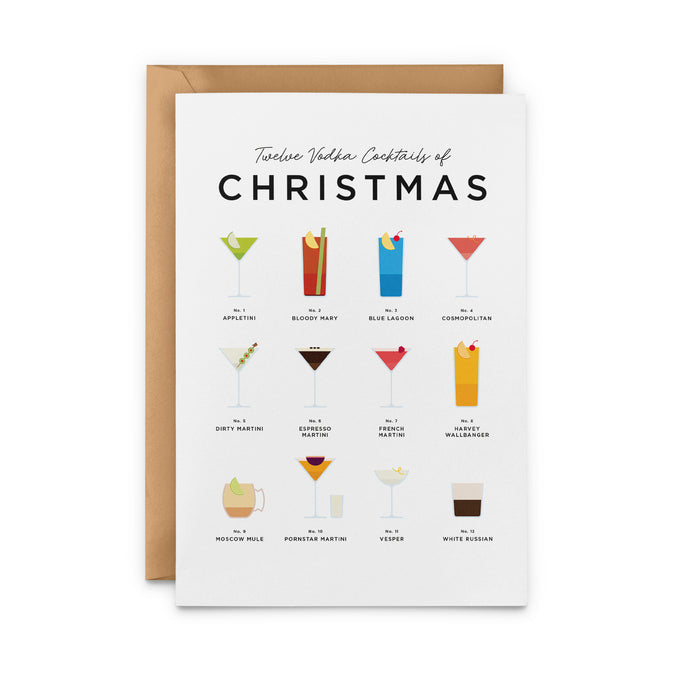 Twelve Vodka Cocktails Of Christmas – Christmas Card