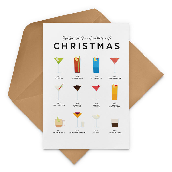 Twelve Vodka Cocktails Of Christmas – Christmas Cards