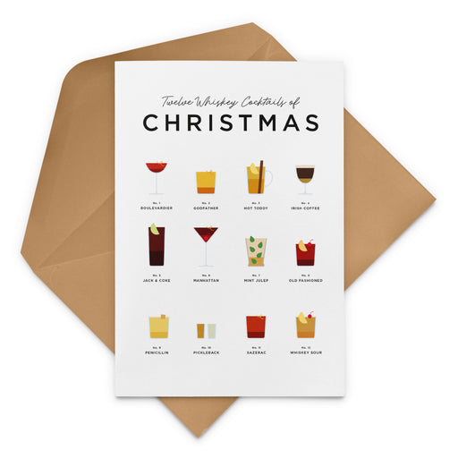Twelve Whiskey Cocktails Of Christmas – Bourbon Christmas Card