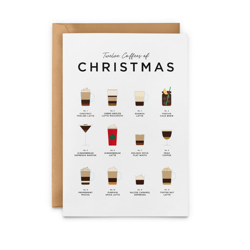 Twelve Coffees Of Christmas – Christmas Cards