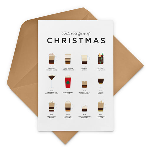 Twelve Coffees Of Christmas – Starbucks Christmas Card
