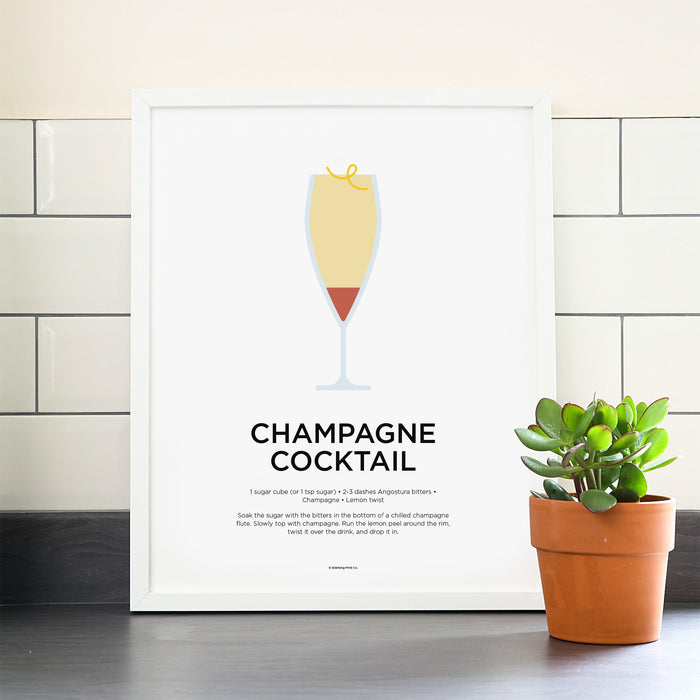 Champagne Cocktail poster