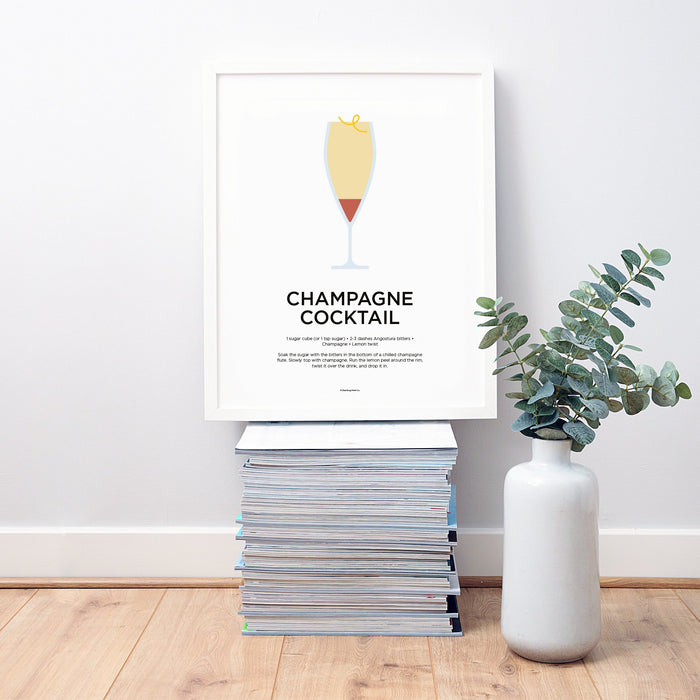 Champagne Cocktail wall art