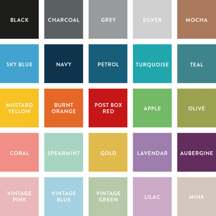 Colour choices swatch