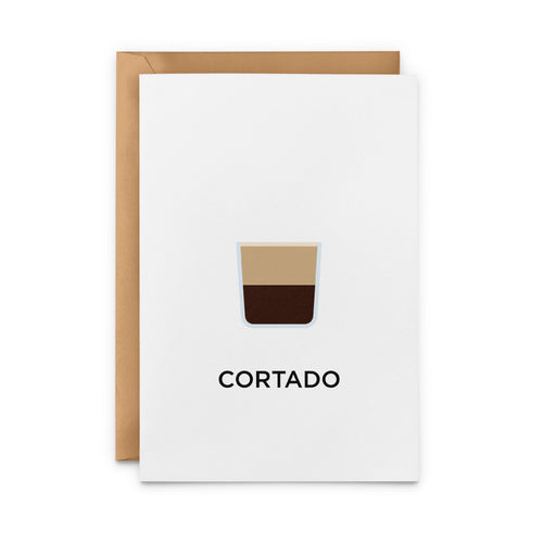 Cortado Greeting Card