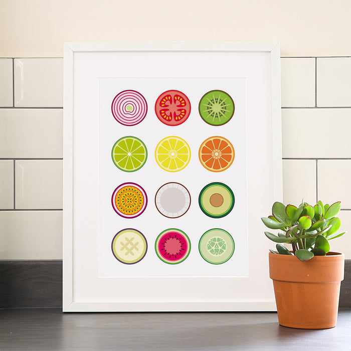 Fruit & Vegetables Print