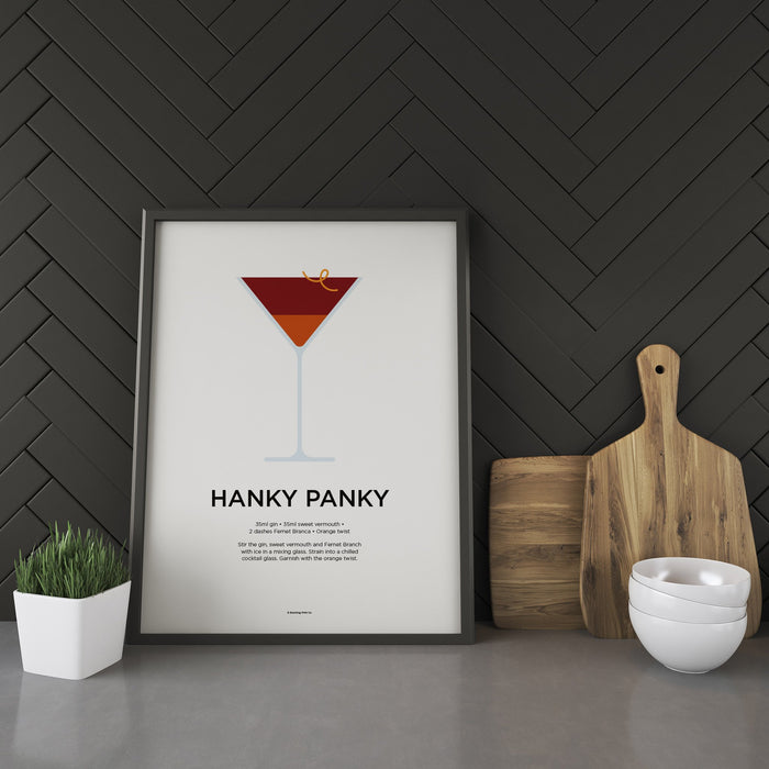 Hanky Panky cocktail recipe print