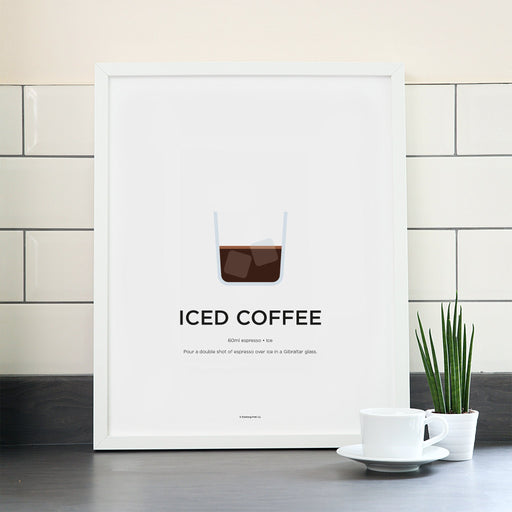 Iced Coffee poster