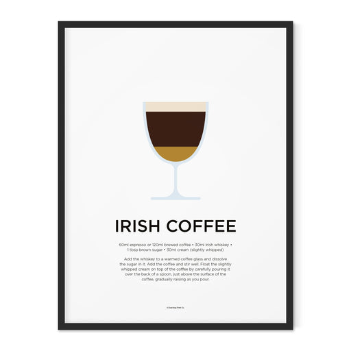 Irish Coffee art print