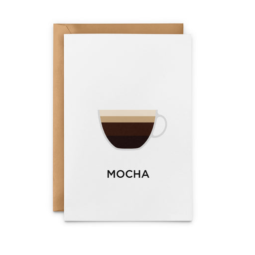 Mocha Greeting Card